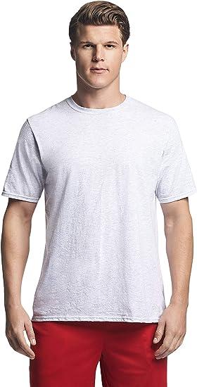 Mens 100/% Cotton Outdoor Sports T Shirt Lightweight Athletics Short Tee Hot Tops