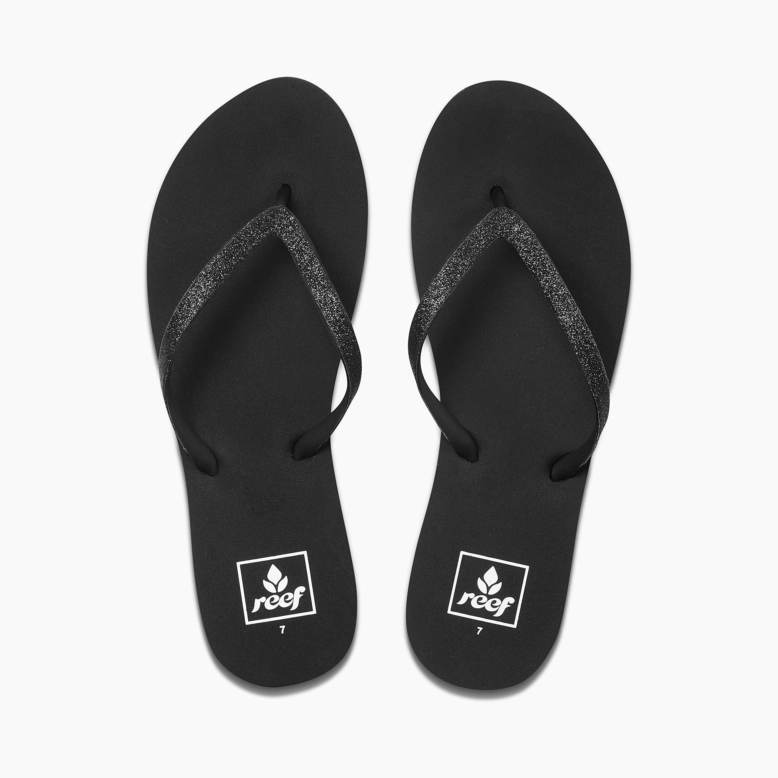 Reef Women's Stargazer Sandal,Black/Black,9 M US
