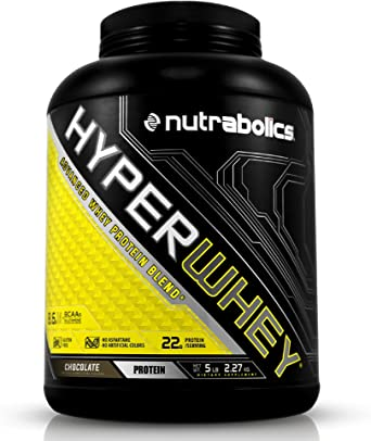 nutrab olics Hyper proteína Whey de chocolate