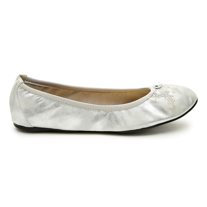 Cocorose Chaussures Royal Pliantes - Royal Chaussures Ballet Chausson Ballerine Femmes 42 EU|Silver Snowflake 3a2134