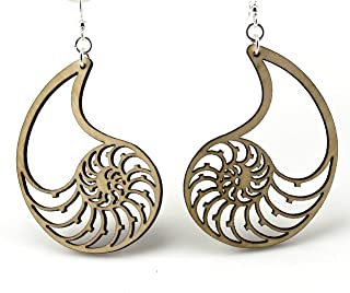 product image for Nautilus Shell Earrings