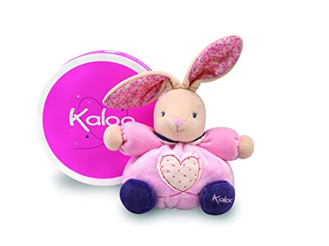 Kaloo Petite Rose Small Rabbit with Heart