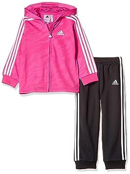 adidas Kinder I Shiny Fzhd J-Reamag/White Trainingsanzüge
