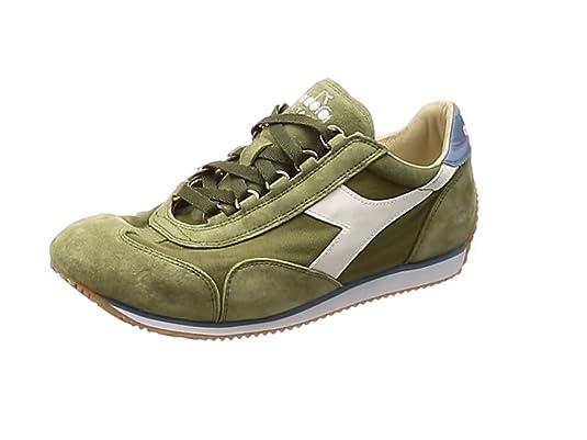 2732821c137ee Diadora Heritage - Sneakers Equipe Stone Wash 12 per Uomo e Donna IT 38.5