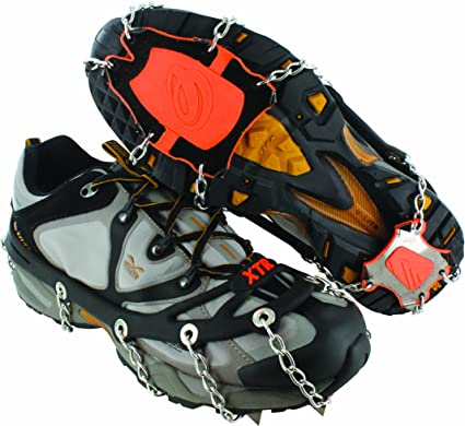 SNOTEK Lightweight Everyday Winter Ice Grips Winter Traction Aids for Snow and Ice