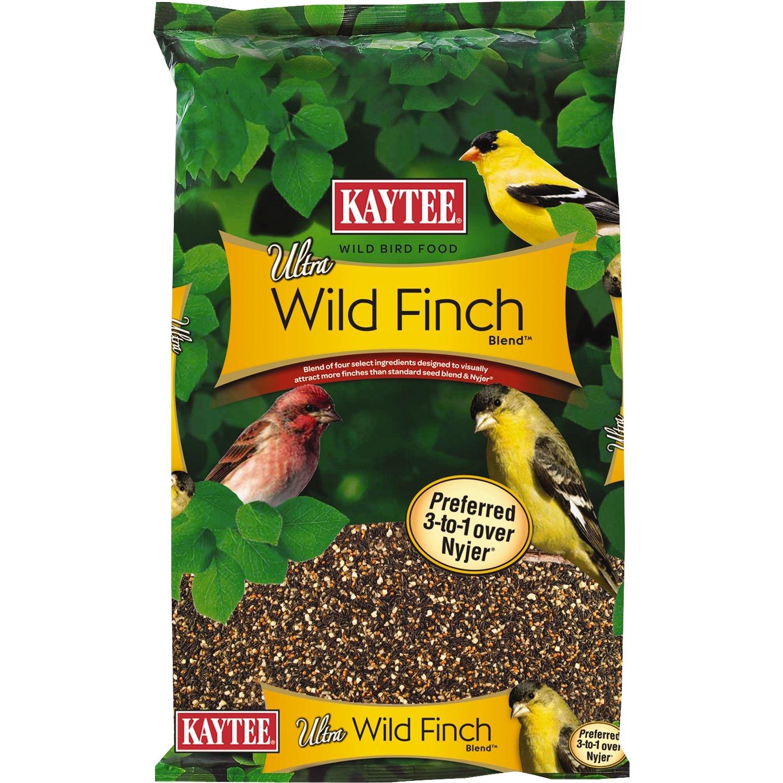 amazon com kaytee ultra wild finch blend 7 pound bag pet food