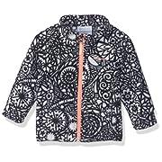 Columbia Unisex Baby Infant Benton Springs II Printed Fleece, Black Mod Lace, 3/6