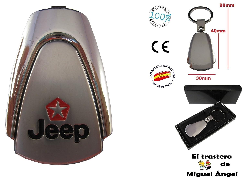 Llavero de coche Jeep ETMA