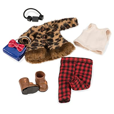 Lori Doll I Spot You Leopard Outfit: Toys & Games
