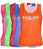 JANT girl Lacrosse Mesh Pinnie Lacrosse Play Tough, Get Dirty Logo