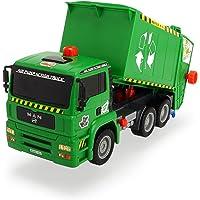 Dickie - Camión de Basura, Color Verde (3805000)