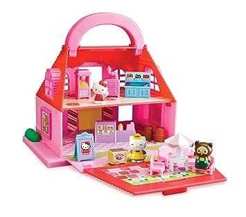 Blue Mini Hello Kitty Box Casa tQrdshC