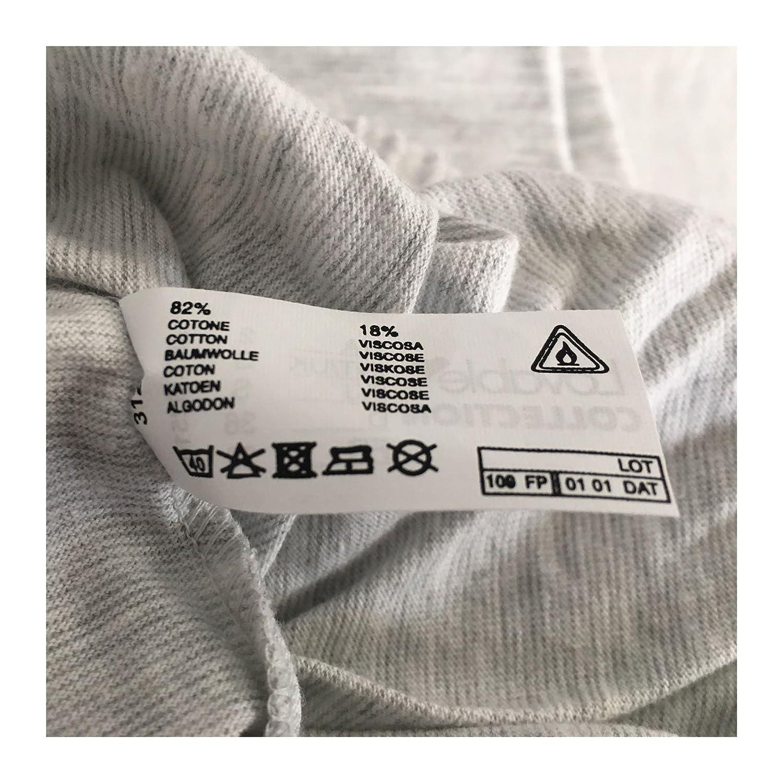 6430170838bb LOVABLE pigiama donna manica lunga grigio/rosso 82% cotone 18% viscosa (ITA  5-USA XL-EU 42-FR 44): Amazon.it: Abbigliamento