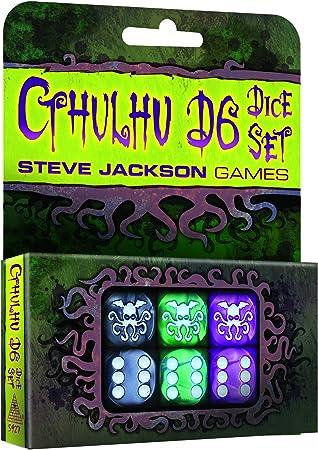 /Cthulhu Dice Game 2017 Steve Jackson Games sjg31342/