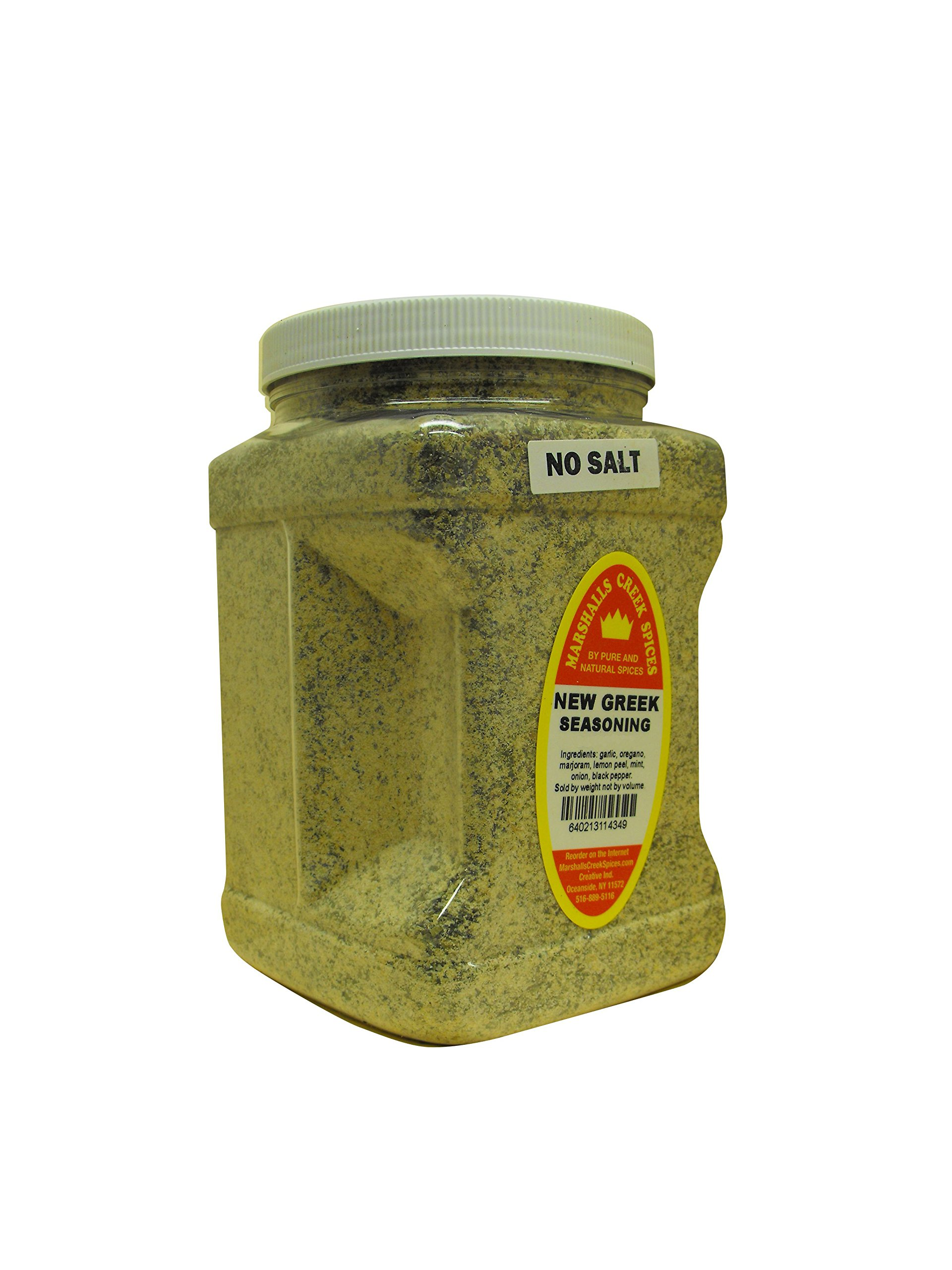 Family Size Marshalls Creek Spices New Greek Seasoning No Salt, 40 Ounces ... ...