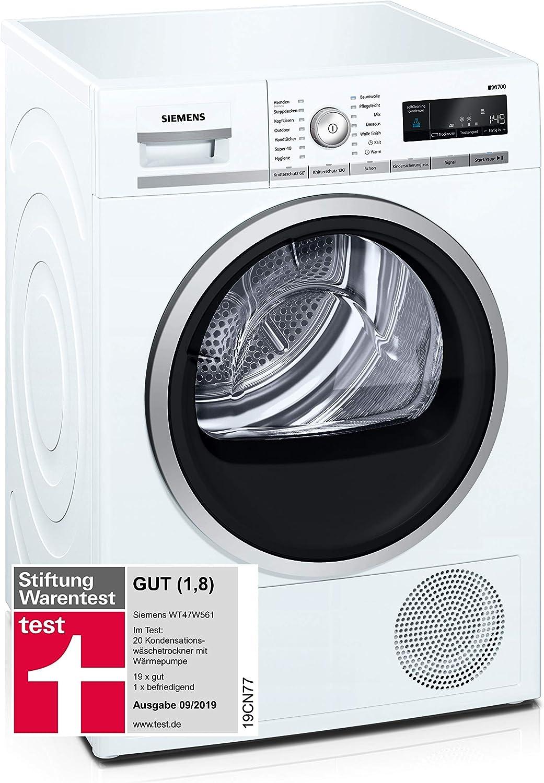 Siemens iQ700 IDWT47W561 - Secadora (Independiente, Carga frontal ...