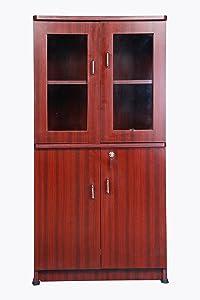 Hudson's 4 feet Bookcase with 4 Door