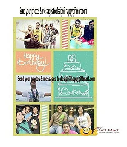 Personalized Happy Birthday Greeting Card Add Your Own Photo