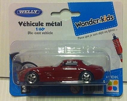 Welly - Coche en miniatura de metal 1/60 Mercedes Benz SLS ...
