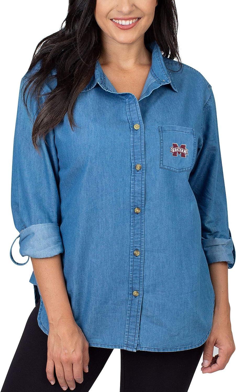 UG Apparel Women's The Denim Shirt: Clothing