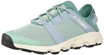 95d04392b0730 adidas outdoor Women's Terrex CC Voyager Sleek Walking Shoe, Clear  Mint/True Green/