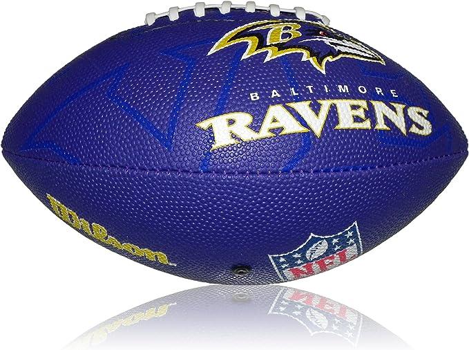 Wilson Football NFL Junior Baltimore Ravens Logo - Balón de fútbol ...