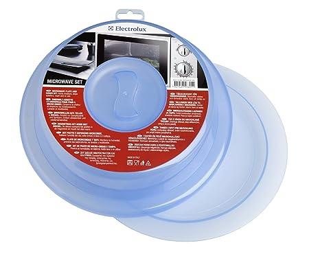 Electrolux 4055036166 - Juego de Plato y Tapa para microondas ...
