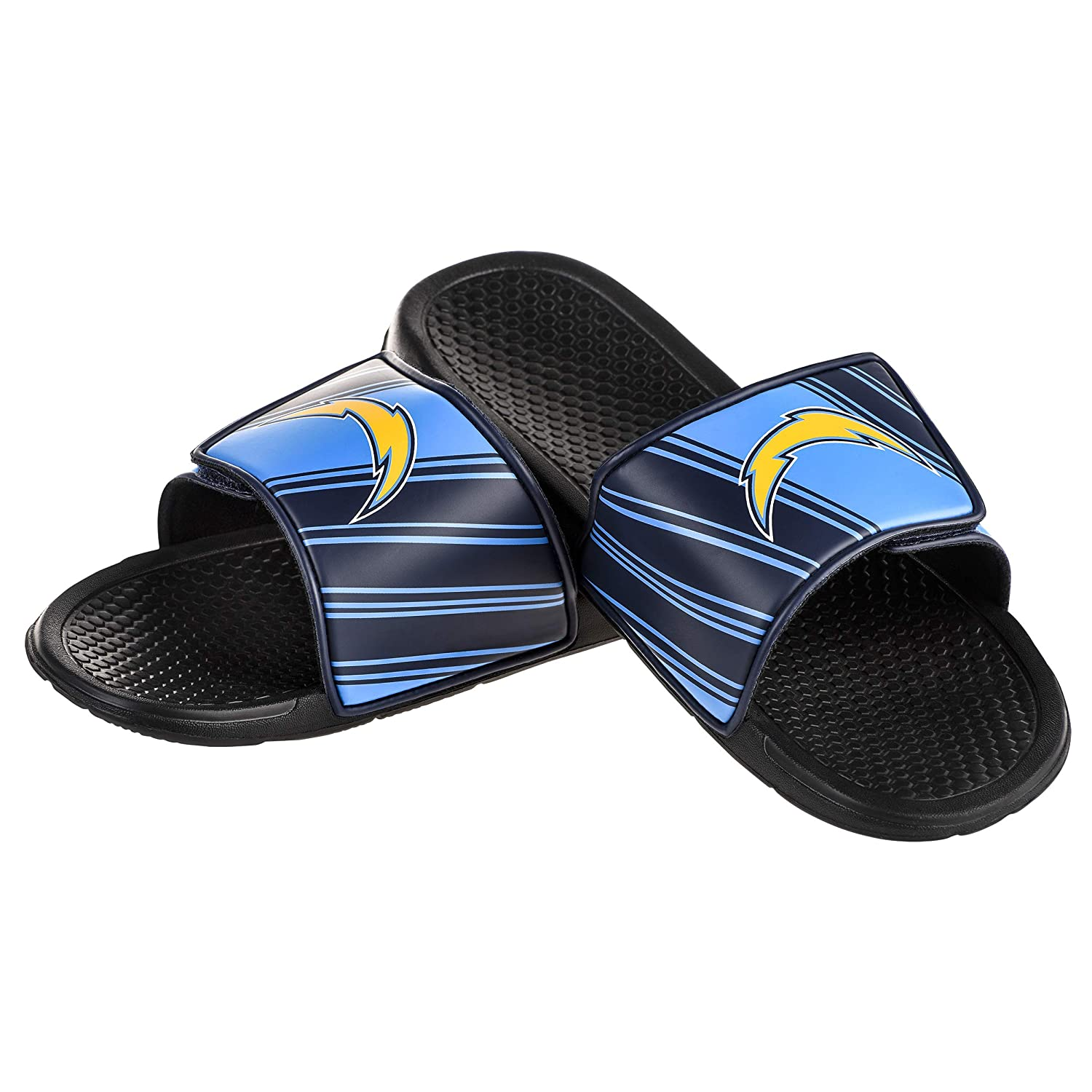 c84f9185b37 Amazon.com   NFL Football Mens Legacy Sport Shower Slide Flip Flop Sandals  - Pick Team     Sports   Outdoors