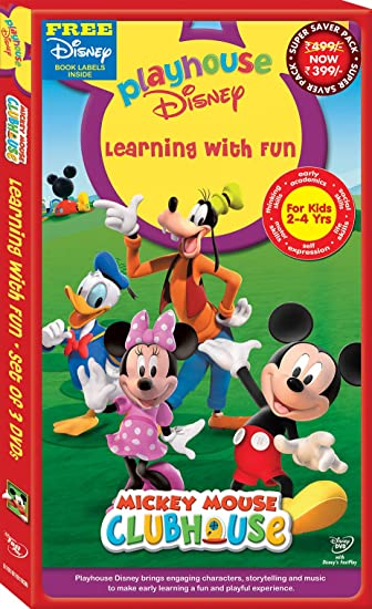Amazonin Buy Playhouse Disney Learning With Fun Micky Mouse