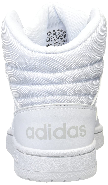 Herrenschuhe Adidas Sneaker weiss VS Hoops Mid CG5711 Mode