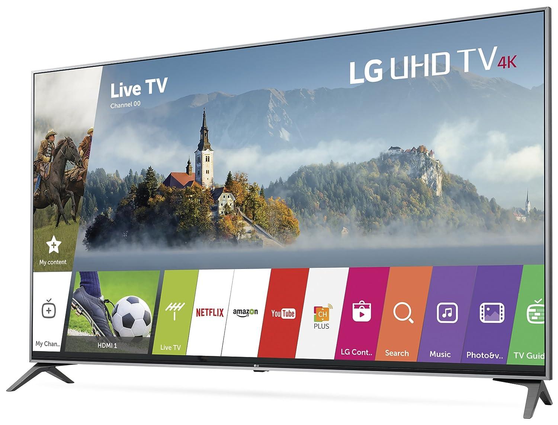 b4fc1e0a2 Amazon.com  LG Electronics 60UJ7700 60-Inch 4K Ultra HD Smart LED TV (2017  Model)  Electronics