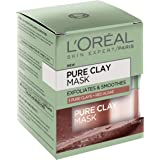 L'OREAL PARIS L'Oréal Paris Pure Clay Exfoliating Red Algae Mask, 50 Gram