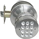 Amazon Com Electronic Keyless Door Lock Set Satin