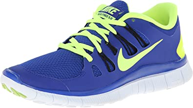 Nike Free 5.0+ - Zapatillas de running, Azul (azul), 40 EU: Amazon ...