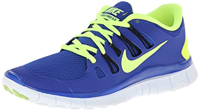 sneakers for cheap 1eab6 b9f1c NIKE Mens Free 5.0+ Running Shoes - Size  11, Blue red