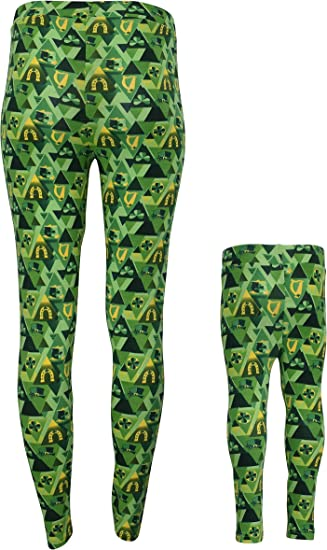 The Childrens Place Baby Girls St Patricks Day Leggings