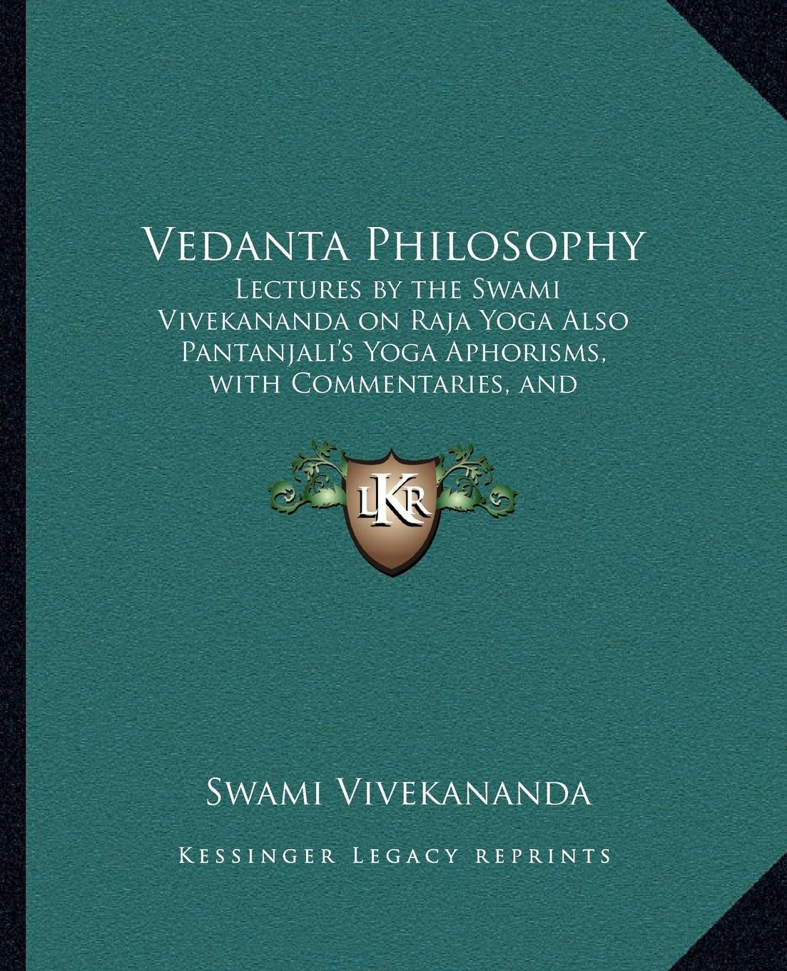 Amazon.com: Vedanta Philosophy: Lectures by the Swami ...