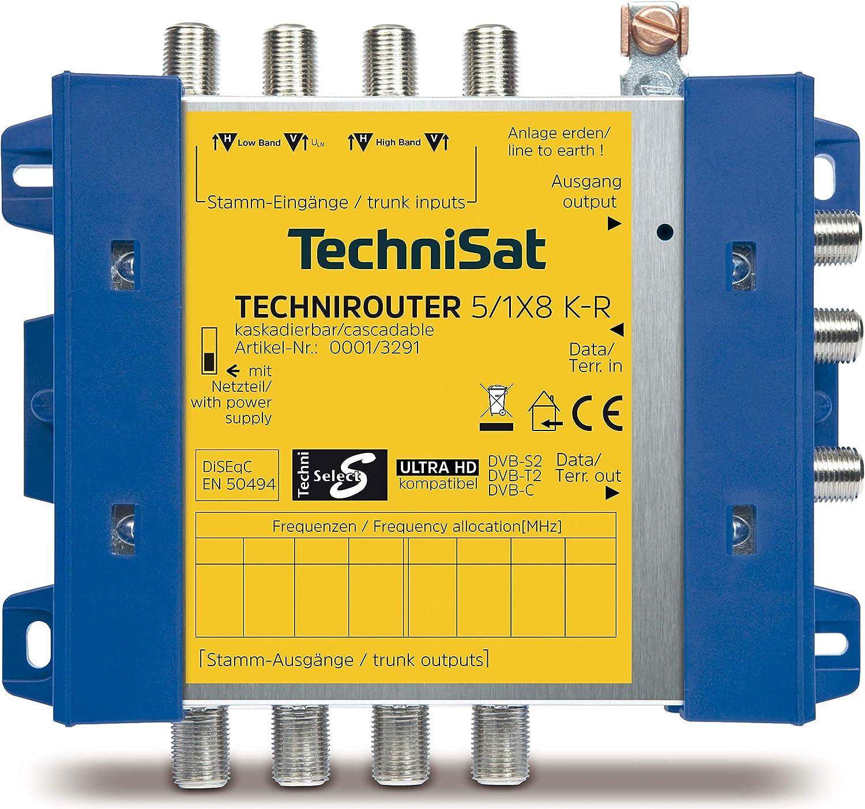 Technisat Technirouter 5 1x8 K R Kaskade