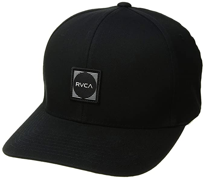 Amazon.com  RVCA Men s Flexfit Scores Hat  Clothing 47b002ef98b4