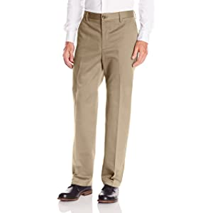 """Dockers Men's Classic Fit Signature Khaki Pant Flat-Front D3""的图片搜索结果"