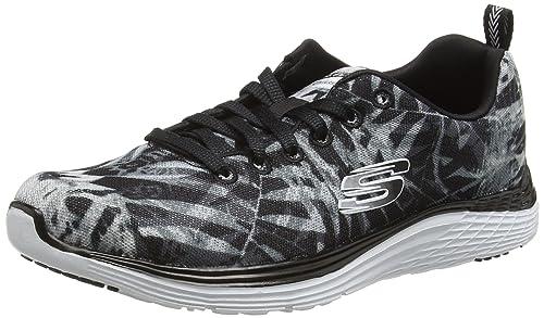 SkechersValeris MAI Tai - Zapatillas de Running Mujer: Amazon.es ...