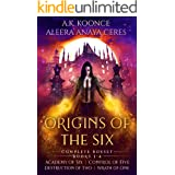 The Origins of the Six Complete Boxset: A Supernatural Academy Series