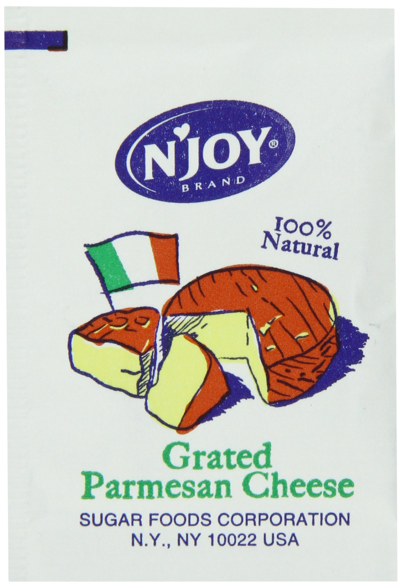 N'joy Parmesan Cheese Packets, 200 Count
