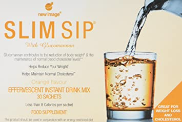 Slim Sip The Simple Solution Drink For Weight Loss Cholesterol Orange 30 Sachets