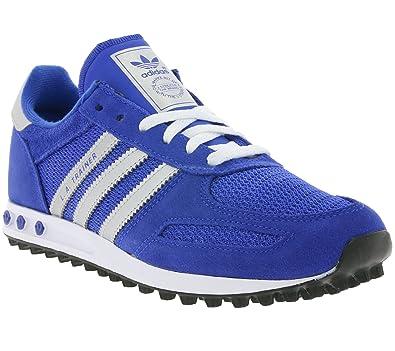 adidas Unisex Erwachsene La Trainer J 157 Sneaker, blau