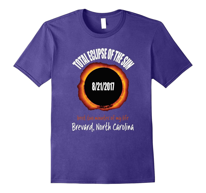 2017 Eclipse Souvenir Brevard, North Carolina NC T Shirt-CL