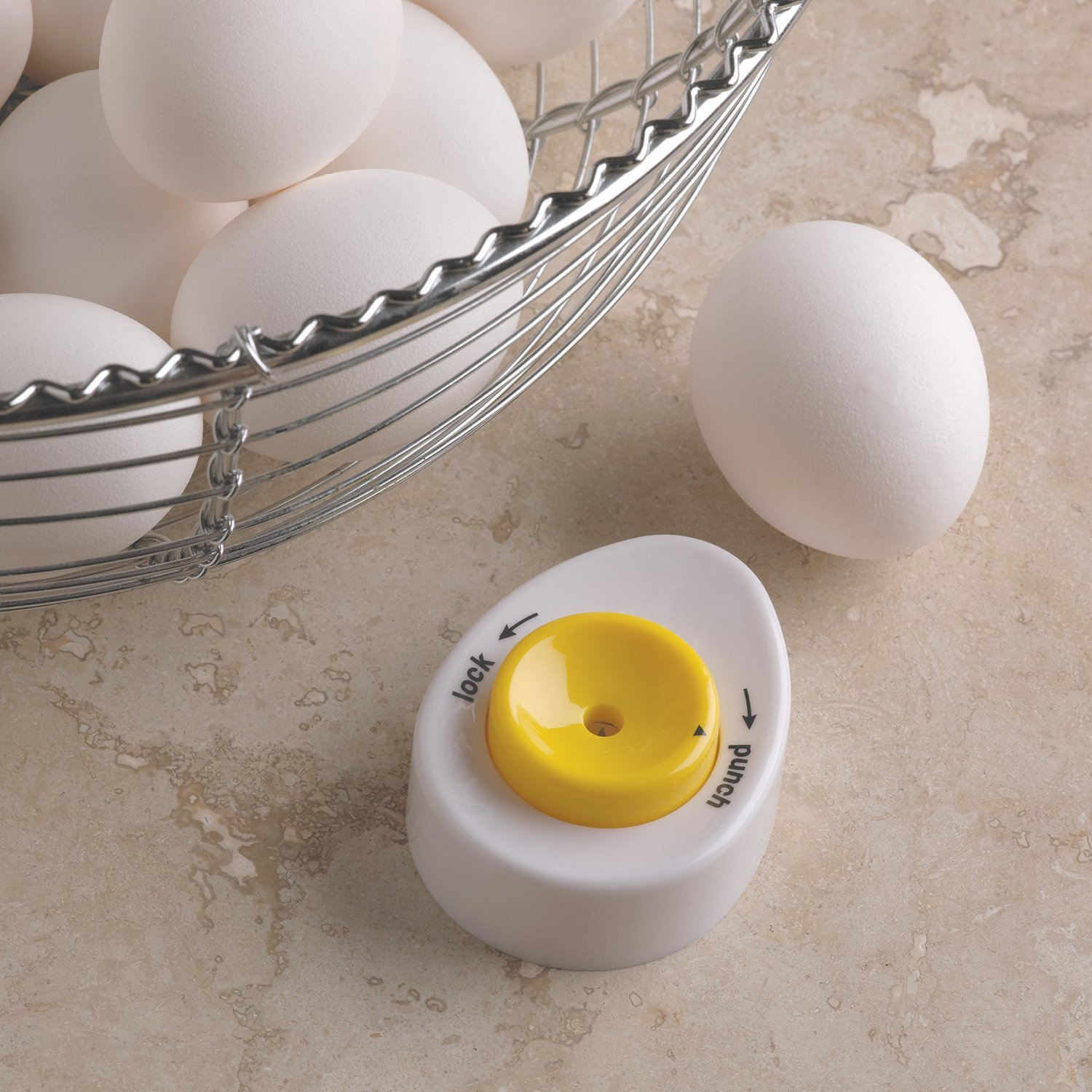 5711 Fox Run Boiled Egg Piercer Carded 4 pack