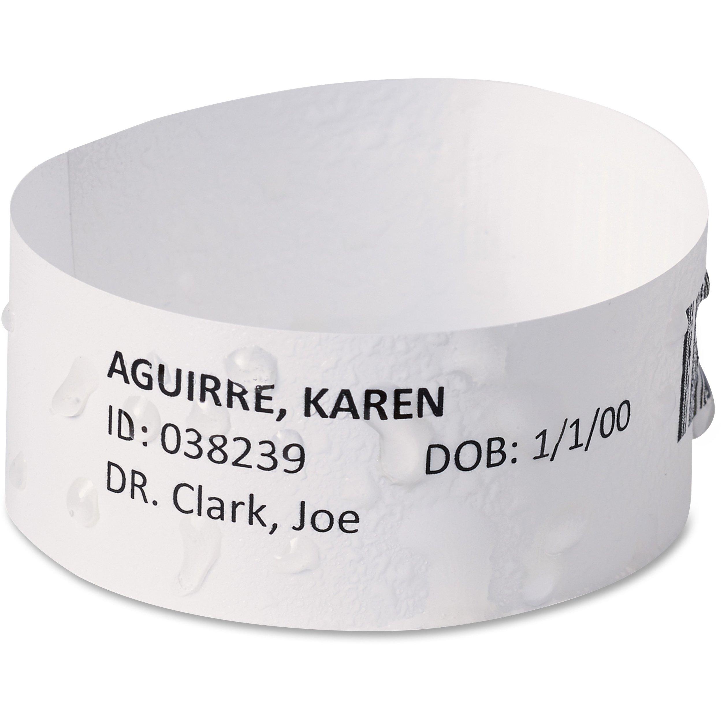 Avery Chart Label EasyBand Medical Wristbands 74436