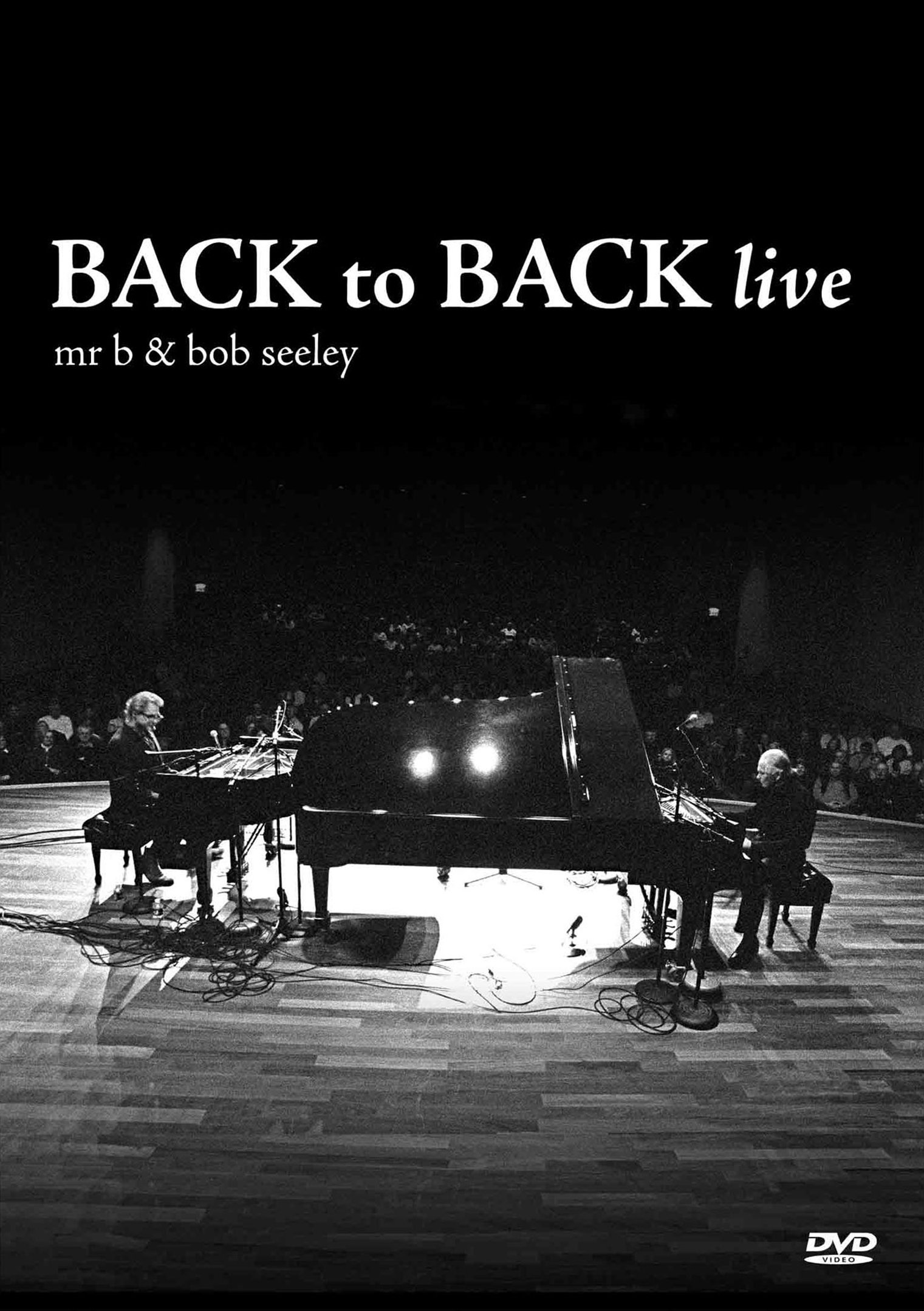 DVD : Mr. B - Back To Back Live (DVD)