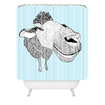 Deny Designs Casey Rogers Sheep Shower Curtain 69quot